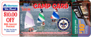 2017 Boy Scout Camp Card - Troop 228 Princeton, Tx