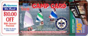 2017 Boy Scout Camp Card - Troop 228 Princeton, Tx