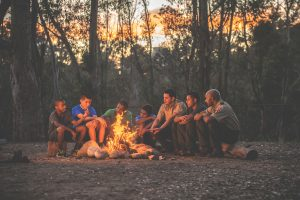 Boy Scout Camping